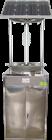 HX-TS3太阳能电击箱体式杀虫灯 不锈钢箱体