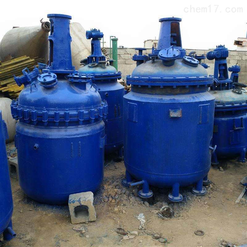 专业回收二手6.3吨搪瓷反应釜