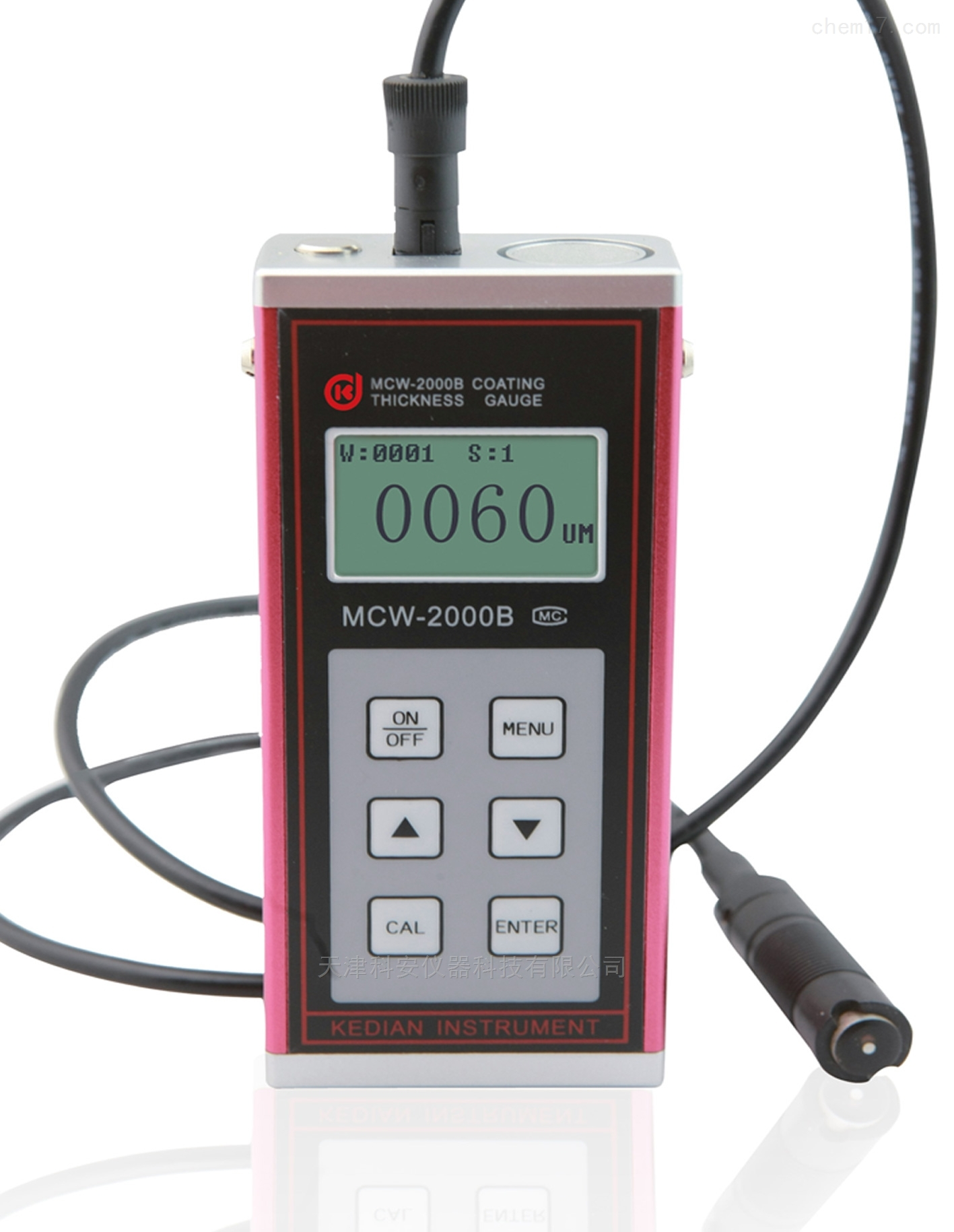 电涡流涂层测厚仪