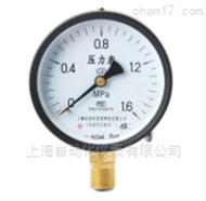 Y-100普通压力表 Y-100 上海自动化仪表四厂
