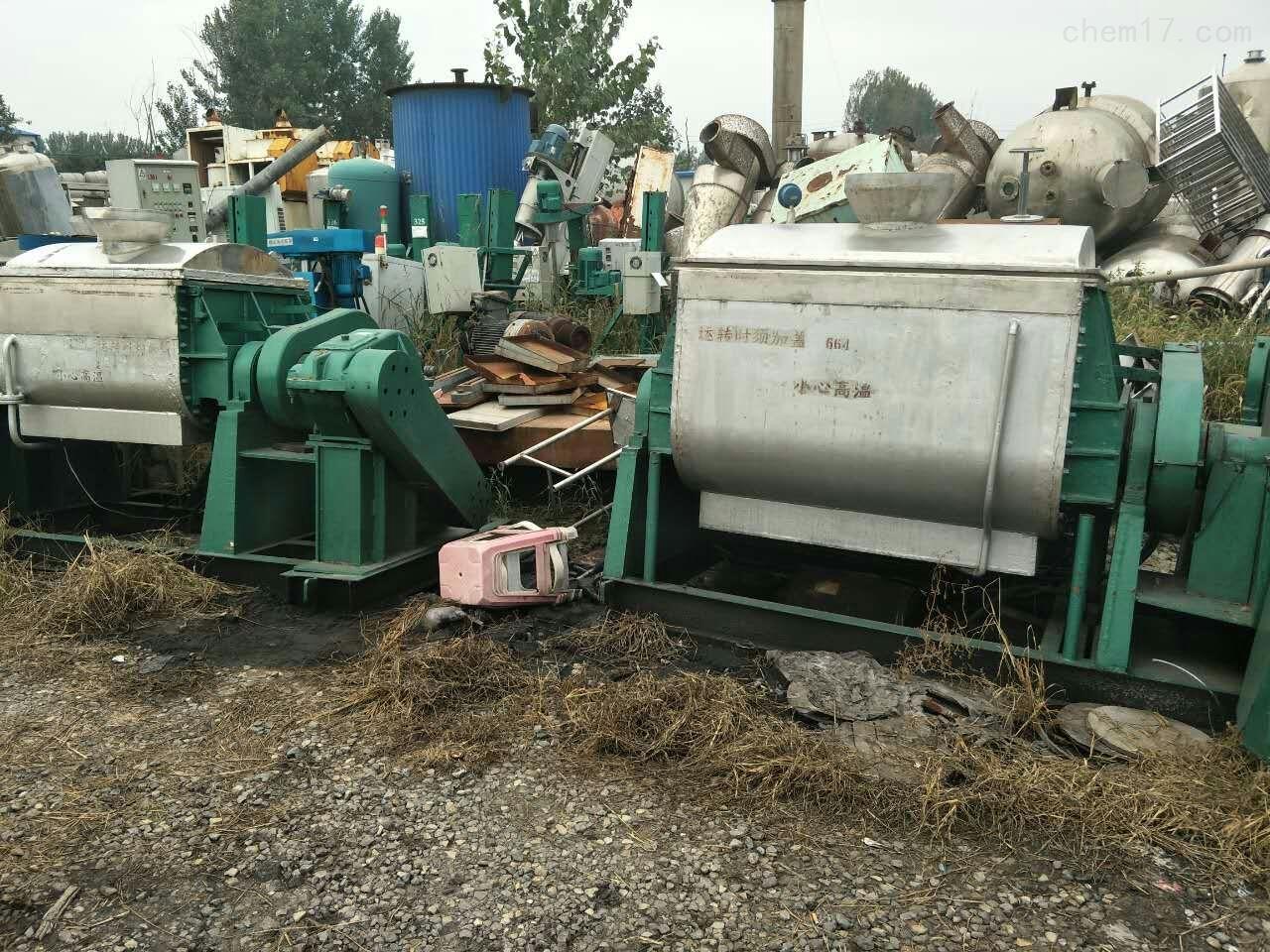 常年高价回收500升真空捏合机