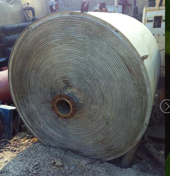 大批量回收二手不锈钢螺旋板换热器回收价格