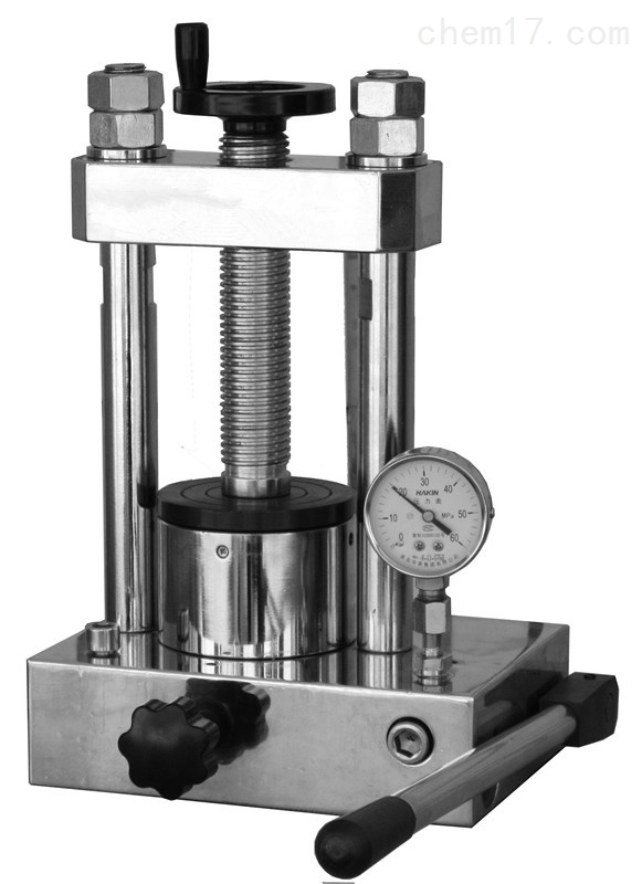 24吨手动粉末压片机