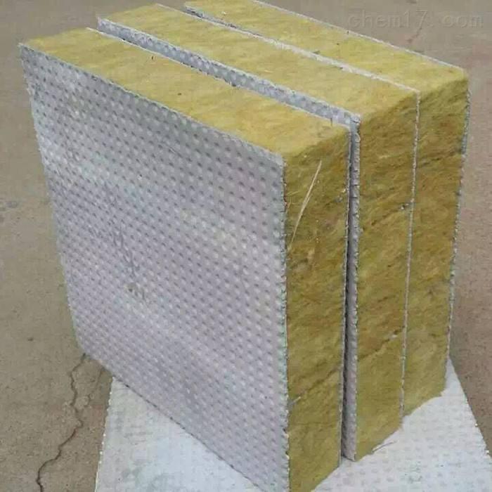豎式水泥面巖棉復合板行情價
