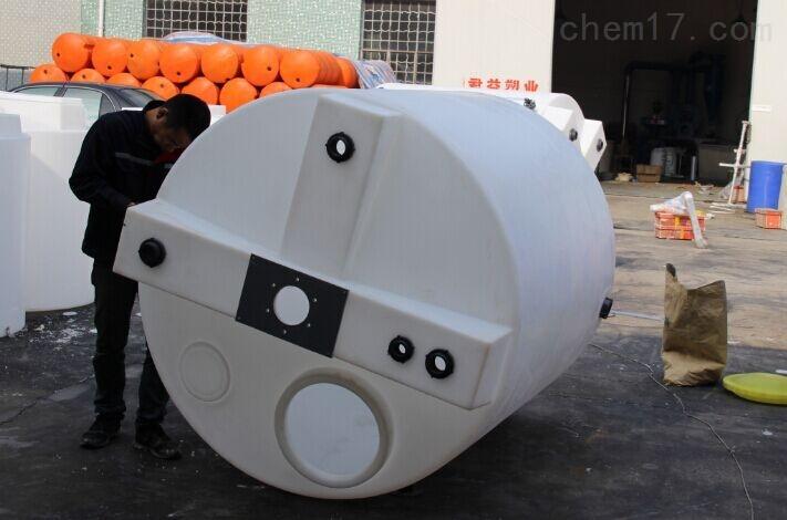 1000L水处理溶药桶 PE耐酸碱溶药桶