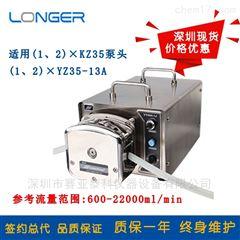 YT600-1J工业不锈钢蠕动泵/工业型恒流泵YT600-1J