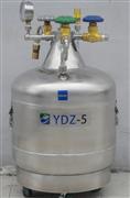 5L容积,液氮罐 ,YDZ-5 低温储存不锈钢