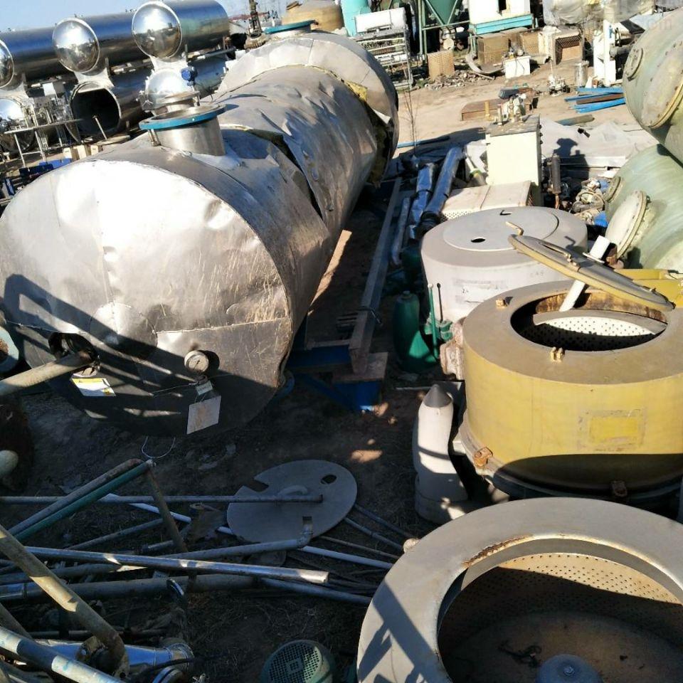 低价处理二手MVR强制循环蒸发器