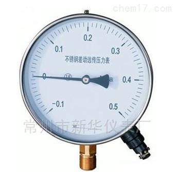 YTZ電阻遠傳壓力表