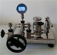 SD102台式手动水压源