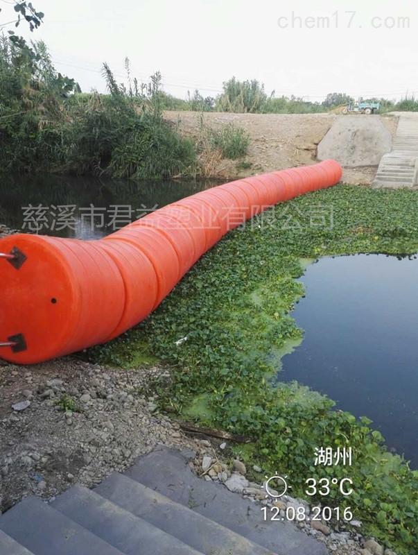 山东取水区拦截浮筒 无污染PE浮筒厂家