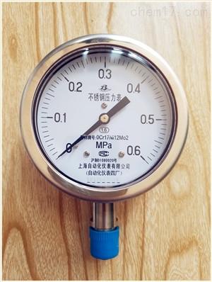 0~1.6Mpa高压压力表