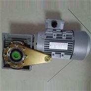 立式利政牌铝壳蜗轮蜗杆减速电机 三相马达