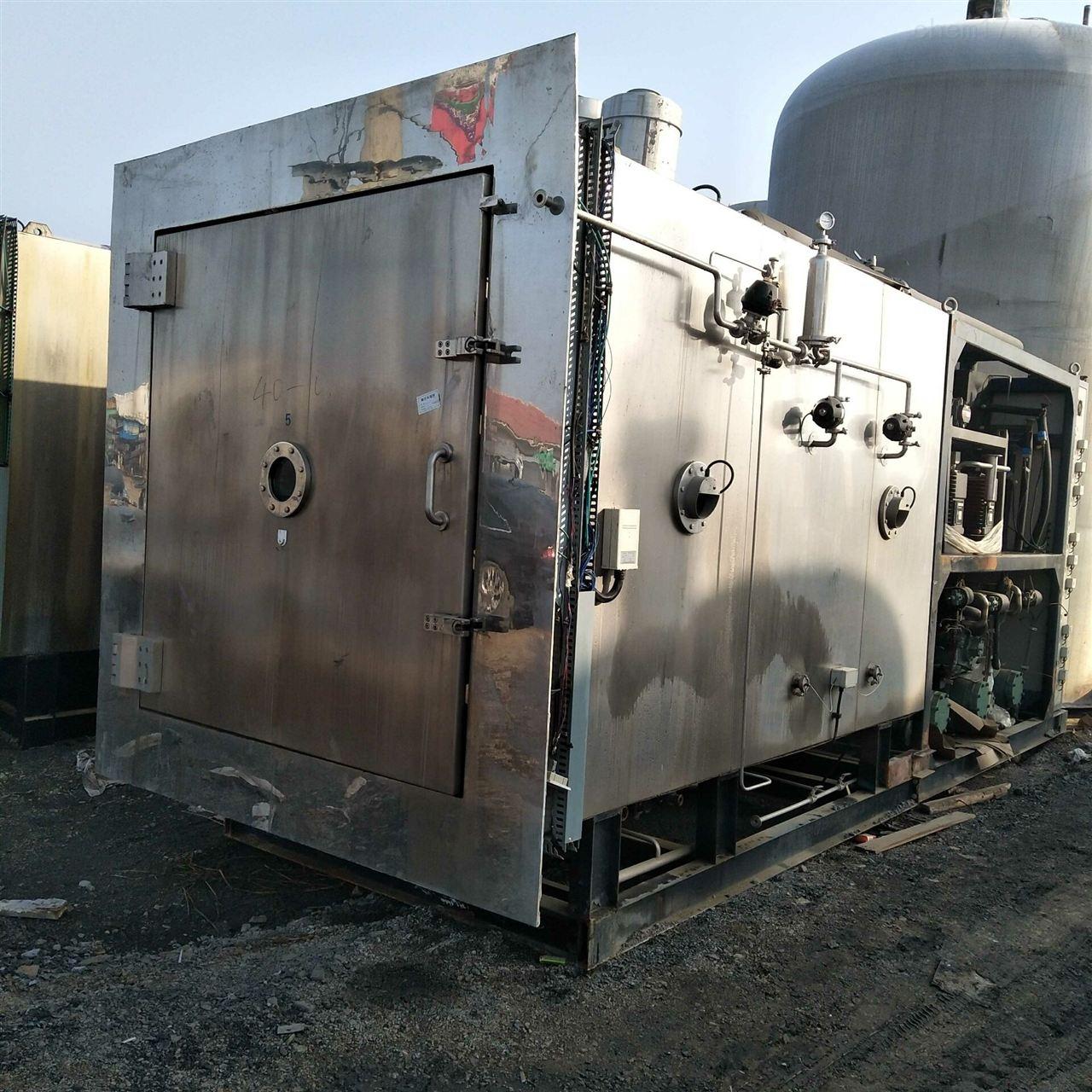 紧急出售二手真空冷冻干燥机