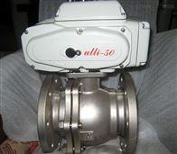 Q941F46電動襯氟球閥