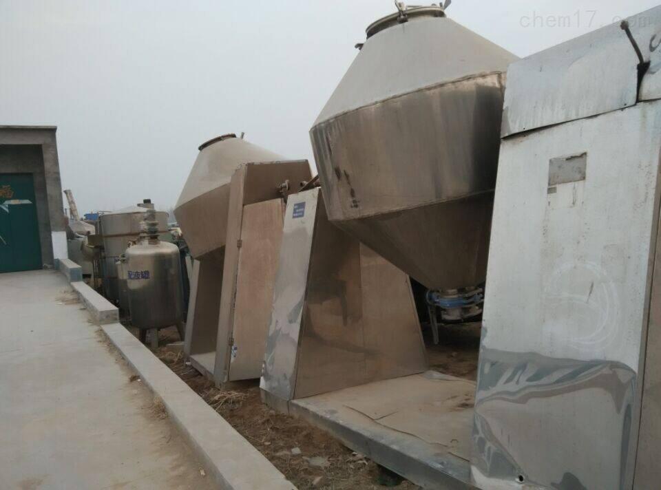 常年回收二手2000升左右的方锥干燥机