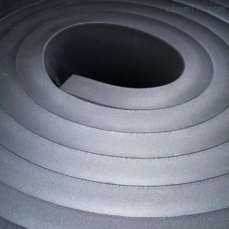 带铝箔橡塑保温板具有良好的绕性光滑平整