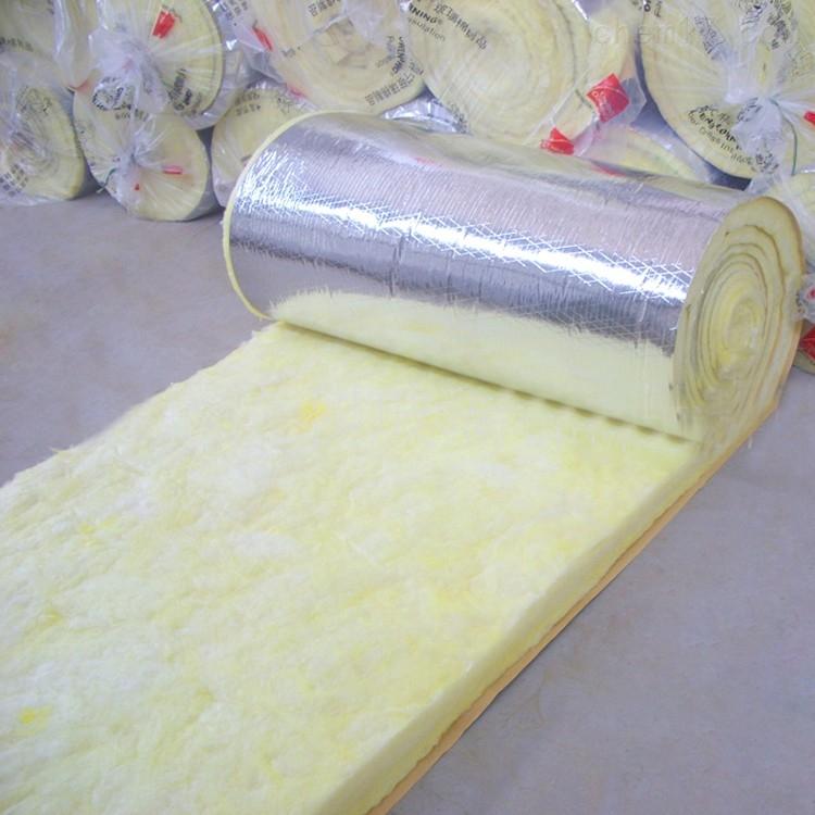 带铝箔玻璃棉卷毡具有密度小、耐热、等特点