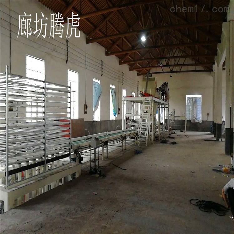 玻镁板生产线秸秆板设备技术成熟保质保量