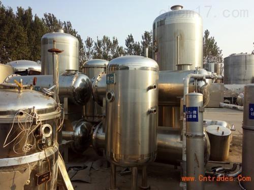 全厂回收二手双效浓缩蒸发器