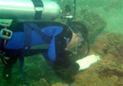 潜水员切割