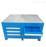抽屉式钢板工作台公明工厂供应抽屉式钢板工作台利欣定制