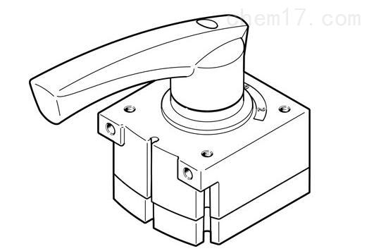 德国FESTO手动常闭型控制方向阀
