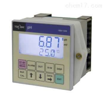 东亚dkk 面板安装ph分析仪控制器CALMEMO