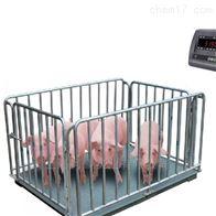 SCS围栏电子磅标配高度1m耀华牲畜电子地磅秤5T