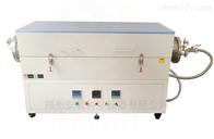 安晟AS-1200GSL工业用双温区真空气氛管式炉