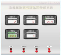 溶解氧測定氣液體積傳質系數