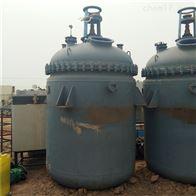二手12吨搪瓷反应釜低价出售