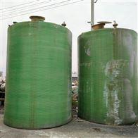 二手100方玻璃钢储罐回收