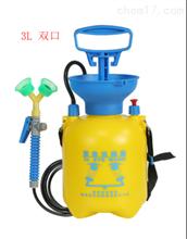 SP-SLBXSXYQ驗廠塑料便攜式洗眼器(帶壓力表緊急沖洗)