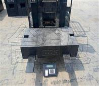 浙江诸暨合力柴油叉车加装检重电子秤