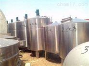 長期大量回收2000升乳品不銹鋼攪拌罐