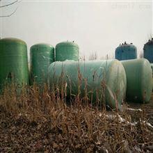 低价出售二手40立方玻璃钢储存罐淄博