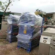 出售二手8平方全焊接板式換熱器8成新微山