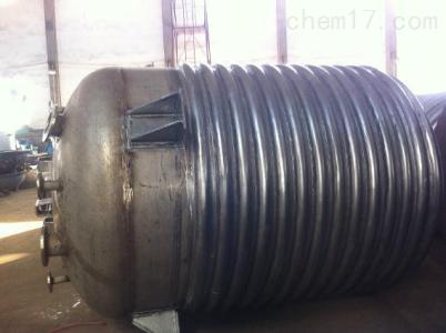 全国各地区回收二手20吨不锈钢外盘管反应釜