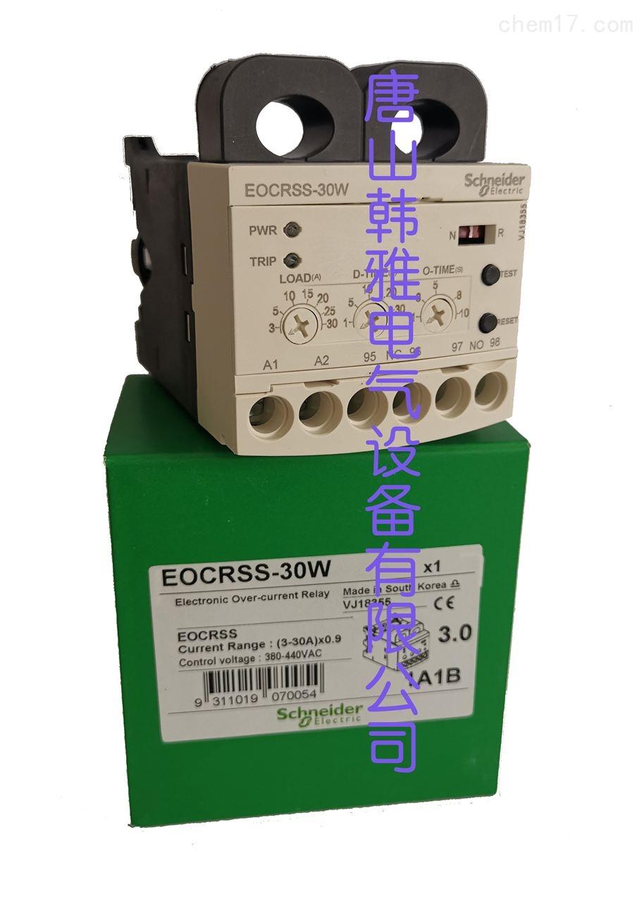 EOCR-SS-05S过电流保护器施耐德韩国三和EOCR-SS
