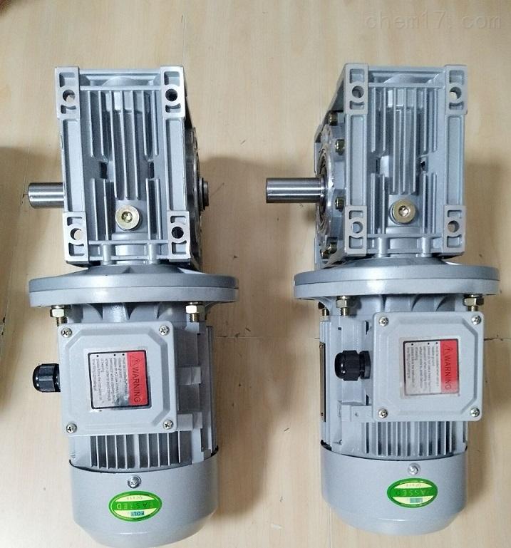 扬州单轴输出NMRV063-30蜗轮蜗杆减速电机