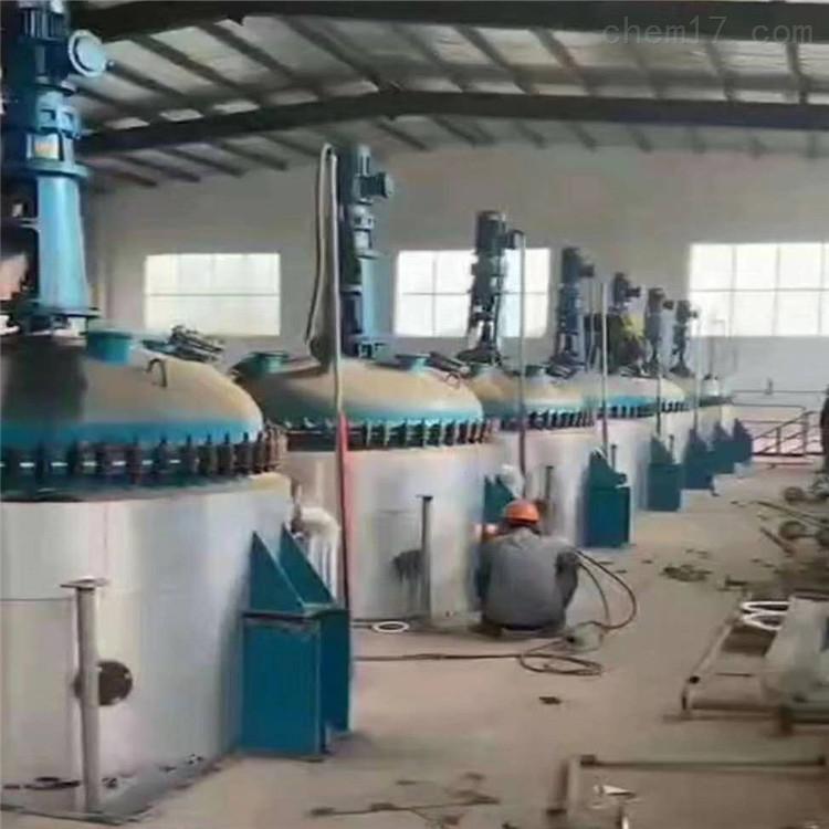 国鑫出售16立方16000升二手搪瓷反应釜