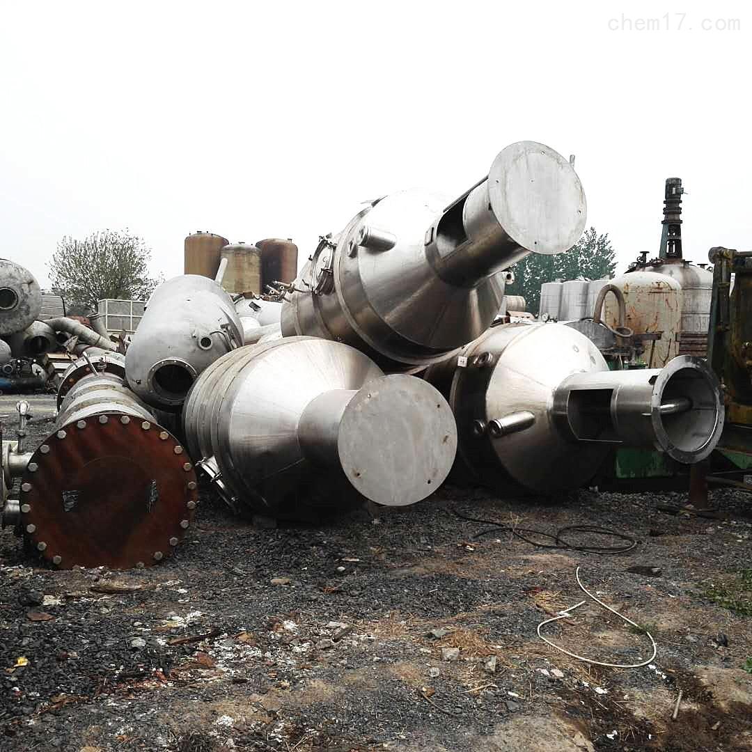 25000千克25000升25吨二手四效降膜蒸发器