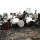化肥厂转让28000升28吨二手四效降膜蒸发器
