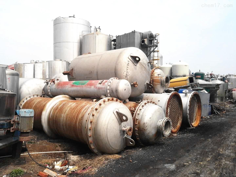 宁夏30平方二手列管式不锈钢冷凝器厂家价格