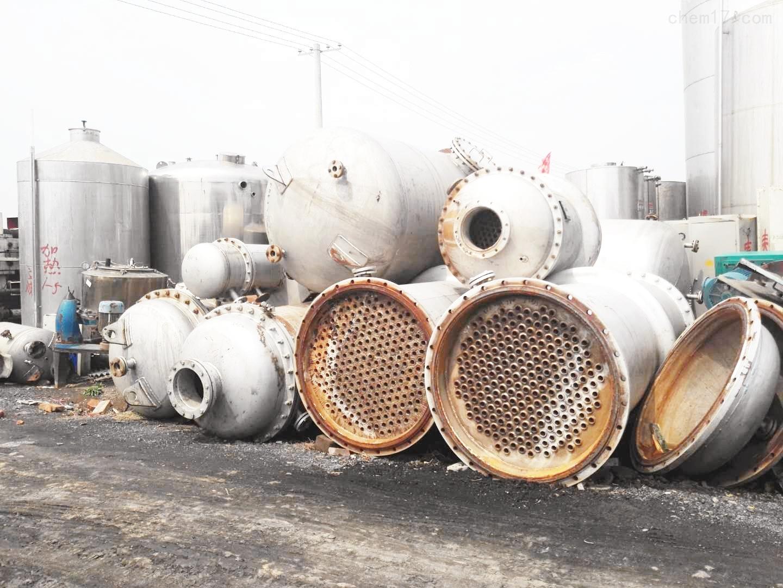 60平方316材质二手不锈钢列管冷凝器卖废铁