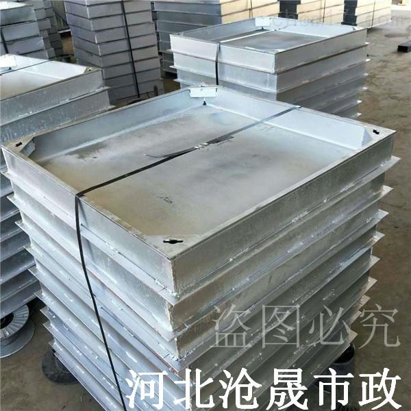 廊坊铺砖井盖—304隐形井盖 不锈钢井盖厂家