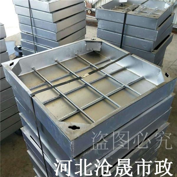 辽宁不锈钢井盖厂家(304)铺砖井盖