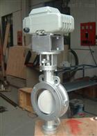 D971F不鏽鋼電動對夾式蝶閥