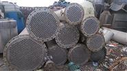大量回收二手40平方全不銹鋼列管冷凝器